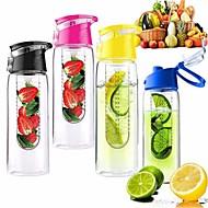 800ml Frucht Radsports infundiert Brüheinheit Wasser Zitrone Tasse Saft Fahrrad Gesundheit umweltfreundlich (gelegentliche Farbe)
