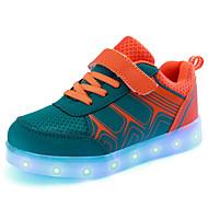 Para Meninos-Tênis-Primeiros Passos Light Up Shoes Shoe luminous-Salto Baixo--Tule-Ar-Livre Casual Para Esporte