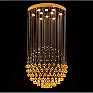 Riipus valot ,  Moderni Galvanoitu Ominaisuus for Kristalli LED MetalliLiving Room Makuuhuone Ruokailuhuone Kitchen Työhuone/toimisto