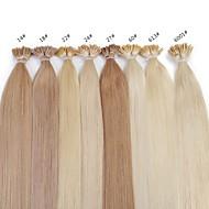 neitsi 20inch Remy hiukset 25g / paljon keratiini fuusio i kärki hiustenpidennykset