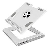 actto / NBS-07wh laptop kjøligere avkjøling rack fan base plate