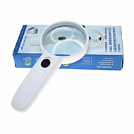Lupe Utilizare Generală / Cititor Generic / High Definition / Mâner / LED 4X 65mm Normal Plastic