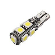 10x CANbus kile t10 hvid 192 168 194 W5W 9 5050 SMD LED lys lampe pære fejlfri 12v