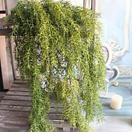 1 Afdeling Polyester Plastik Planter Andre Vægblomst Kunstige blomster 65(25.59'')