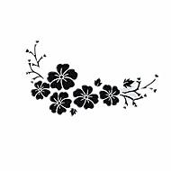 hibisco flores adesivos de carro, tampa decorativa personalizado