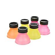 Satz von 6 kreative Soda Sparer Topper wiederverwendbare Kronkorken umwandeln kann (ramdon Farbe)