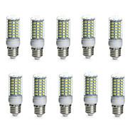10W E14 / G9 / GU10 / B22 / E26/E27 Becuri LED Corn Tub 69 SMD 5730 850-950 lm Alb Cald / Alb Rece Decorativ / ImpermeabilAC 220-240 / AC