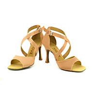 Sapatos de Dança (Preto/Azul/Amarelo/Rosa/Roxo/Vermelho/Branco/Fúcsia) - Mulheres - Customizáveis - Latim/Salsa