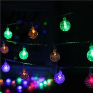 40-ledede 5m stjerne lys vandtæt stik udendørs jul ferie dekoration lys førte streng lys
