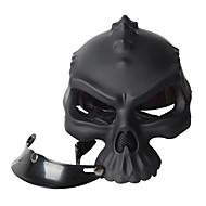 цвет двойного использования череп каско новизны ретро шлем мотоцикла шлем половину лица
