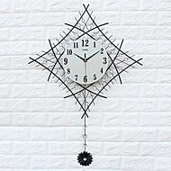 Moderne/Contemporain Niches Horloge murale,Autres Acrylique / Verre / Fer / Métal 60*83cm Intérieur Horloge