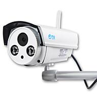 jooan® 1.0mp ip aparat odkryty wykrywany ruch nocny wykrywanie ruchu w nocy zdalny dostęp wodoszczelny wi-fi)