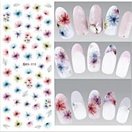 2 Nail Art tarra Veden siirto Decals / Diecut manikyyri Stencil / 3D Nail Stickers meikki Kosmeettiset Nail Art Design