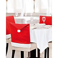 украшения рождества крышки стула домашний декор 60 * 50см 1 шт