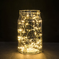 30 leds kobber wire lys 3m snor lys til jul lys festival bryllupsfest eller boligmontering lampe