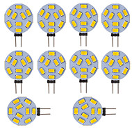 Led Bulb G4  Round Car Marine Camper RV Home Light 9 SMD 5730 120 Degree 12-24V DC/AC (10 Pieces)