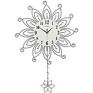 Moderne/Contemporain Niches Horloge murale,Autres Acrylique Verre Métal 55*82CM Intérieur Horloge