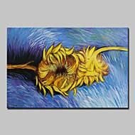 손으로 그린 유명한 플로랄/보타니칼 유화,클래식 전통적 1판넬 캔버스 항으로 그린 유화 For 홈 장식