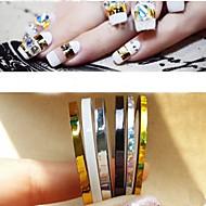 Nail Jewelry - PVC - Punk - Sormi - 2mm 、3mm - 5pcs