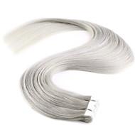 20 '' 20szt nowy m-taśmę w ludzkich włosów rozszerzeniach 100% remy prosto pu skóra wątku