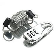 Cadeado para Mala Cadeado com Código fechamento codificado Mini Tamanho para Acessório de Bagagem