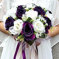 Bryllupsblomster Rund Roser Buketter Bryllup Fest & Aften Sateng