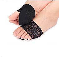 hengittävyys pohjalliset&insertit jalkapöydän tyynyt kangas luistamaton antalgic korkokengät sukat musta beige