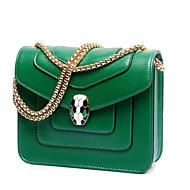 Damen Taschen Winter PU Umhängetasche mit für Normal Grün
