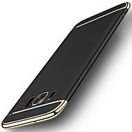 Mert Galvanizálás Jeges Case Hátlap Case Egyszínű Kemény PC mert Samsung S8 S8 Plus