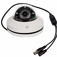 CCTV 1080p 2.1mp ir mini PTZ domekamera AHD / CVI / TVI / CVBS 3x zoom 2.8-8mm lins