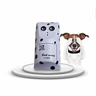 Pes Trénink Elektronický výchovné pomůcky Ultrazvuk Přenosný Bezdrátový Anti Bark Nízká úroveň hluku Bílá