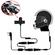 motorcykel fuld face hjelm headset ørestykket til tovejs radio walkie talkie 365 Baofeng Kenwood Wanhua