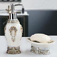 Zestaw akcesoriów łazienkowychŻywica /Barokowy