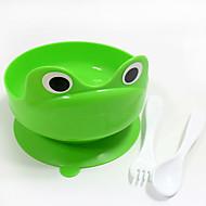 ネコ 犬 フィーダ ペット用 ボウル&摂食 携帯用 折り畳み式 グリーン
