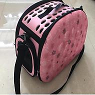 Кошка Собака Переезд и перевозные рюкзаки Животные Корпусы Дышащий Любовь Серый Розовый