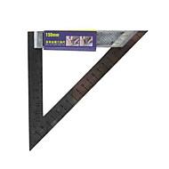 Ferramenta de régua de triângulo multifuncional de metal de 150 mm