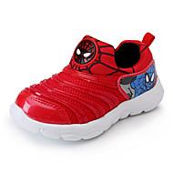 Para Meninos Tênis Conforto Couro Ecológico Primavera Outono Conforto Rasteiro Vermelho Azul Rasteiro