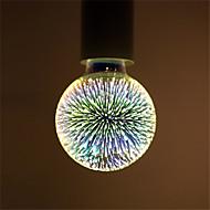 4W E27 LED kulaté žárovky G95 28 Integrovaná LED 350 lm Teplá bílá Ozdobné AC 85-265 V 1 ks