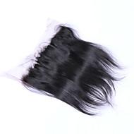 12 tuuman braizlian suora pitsi edestä sulkeminen paras neitsyt Brasilian hiuksista sulkemiset vapaa / keski / 3part sulkeminen