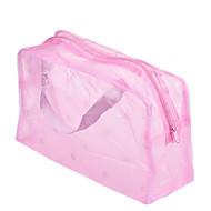 1pcs 휴대용 방수 메이크업 주최 화장품 가방 색상 랜덤