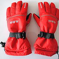 Luvas de esqui Dedo Total Unisexo Luvas Esportivas Manter Quente Prova-de-Água Vestível Respirável Reduz a Irritação ProtecçãoEsqui Skate