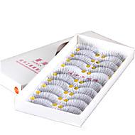 Cílios Cílios Tiras Completas de Cílios Alonga a Estremidade do Olho Fibra Transparent Band