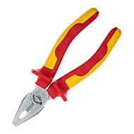 Sheffield s046010 braçadeira de fio de aço isolada alicate elétrico tigre braçadeira de boca braçadeira de arame / 1