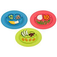 סיליקון גומי צלחות לארוחה כלי אוכל  -  איכות גבוהה