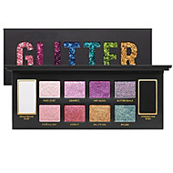 10 Colors Prismatic Glitter Bomb Eyeshadow Collection Palette Fashion Cosmetics With Two Base Shades And Eight Multidimensional Prismatic Shades