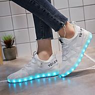 Damen Sneaker Leuchtende Sohlen Leuchtende LED-Schuhe Tüll Frühling Herbst Sportlich Normal WalkingLeuchtende Sohlen Leuchtende