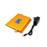 Cdma 800mhz 850mhz dcs 1800mhz amplificateur de répéteur de signal de rappel de signal de téléphone portable avec alimentation lcd display