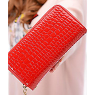 Ženska torbica za sve sezone pravokutni zatvarač žuto crvena crna