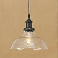Závěsné světla led 4w tradiční / klasické / vinobraní / retro jídelna / pracovna / kancelář / chodba kov