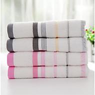 Waschtuch,Gestreift Gute Qualität 100% Supima Baumwolle Handtuch